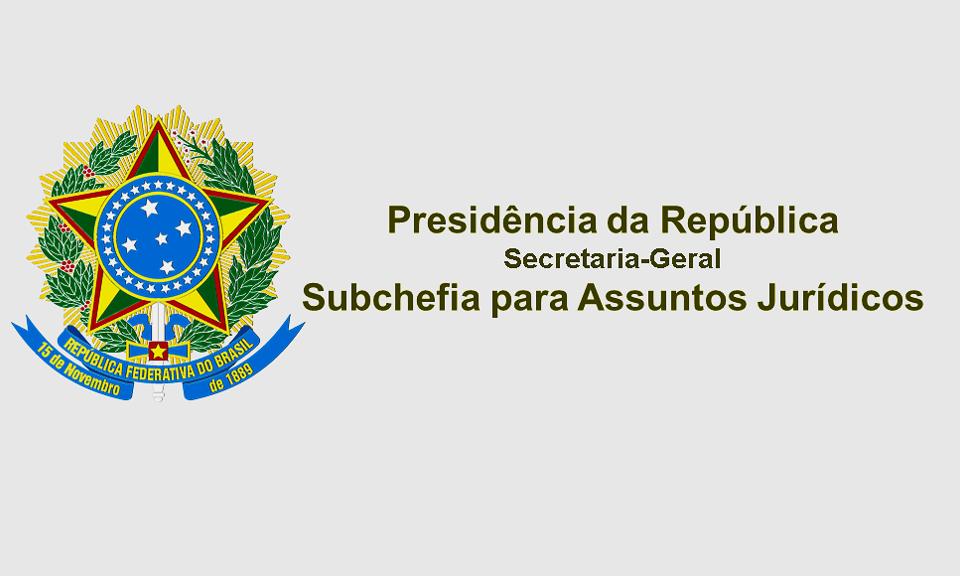 Presidência da República Secretaria-Geral Subchefia para Assuntos Jurídicos DECRETO Nº 10.634, DE 22 DE FEVEREIRO DE 2021