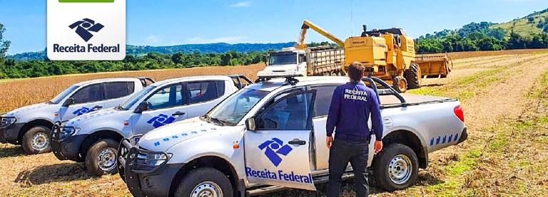 Operação Dagon 2 da Receita Federal combate sonegação de produtores rurais